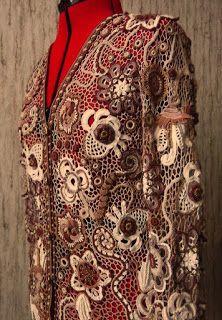 Irish crochet by Olgemini Olga Krivenko
