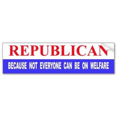 Republican bumper sticker - I want one