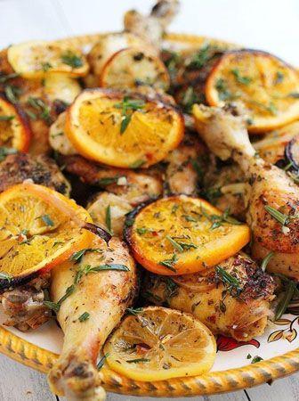 Herb and Citrus Oven Roasted Chicken - Foodgigo