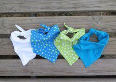 DIY: Cómo coser baberos para bebé tipo bandana: Actitud y alegría.