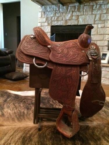 Tod Slone Roping Saddle for Sale - For more information click on the image or see ad # 32274 on www.RanchWorldAds.com