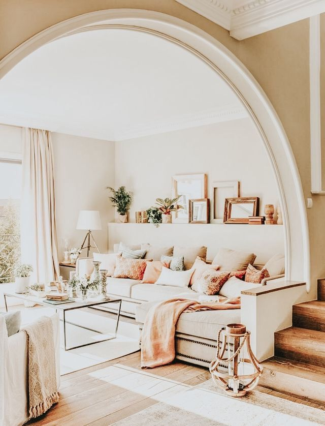 20 Trendy Living Rooms You Can Recreate At Home Farm House Living Room Living Room Color Schemes Living Room Color