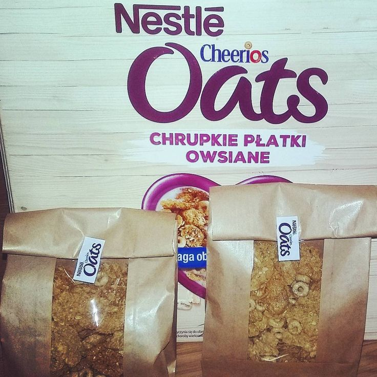 Pierwsze paczuszki rozdzielone.  #CheeriosOats #ChrupkiePlatkiOwsiane #Streetcom #owsiane #Nestle #płatkiowsiane #cynamon https://www.instagram.com/p/883W6ZA44l/