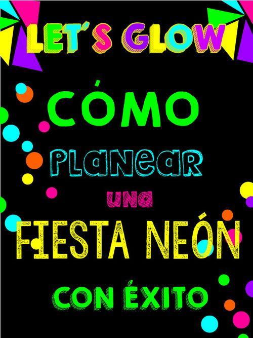 17 mejores ideas sobre fiesta neon en pinterest fiestas - Fiesta 50 cumpleanos ideas ...