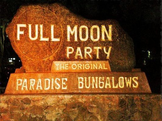 Full Moon Party 12 Mart Tayland'ın En İyi Partisi #fullmoonparty