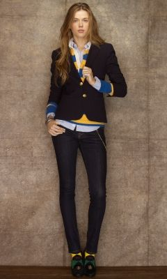 Rugby by Ralph Lauren fall 2012 :) so preppy!