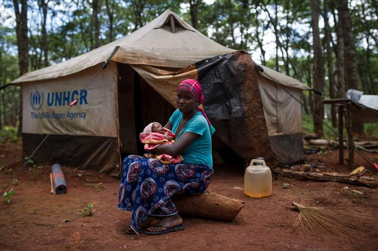 More than 250,000 people have fled Burundi since last year, and a quarter of those now live in Nyarugusu camp in Tanzania, the world's third largest refugee settlement