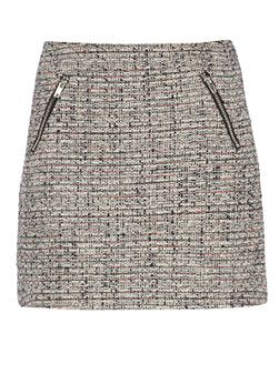 Warehouse Korte tweed rok