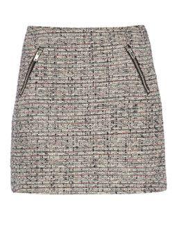 Warehouse Korte tweed rok