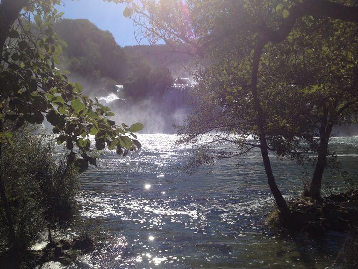 Croazia foto cascate parco nazionale