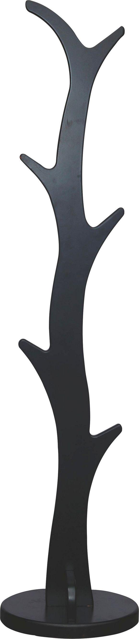 Eine fröhliche Ergänzung für Ihren Eingangsbereich finden Sie in Form dieses zeitgemäßen Kleiderständers. Das schlanke Wohnaccessoire aus robustem Holzwerkstoff wurde in einem strahlenden Grün lackiert - so wird Ihr Flur farbenfroh aufgewertet. An den 6 Haken des ca. 175 cm hohen Kleiderständers hängen Sie Jacken und Mäntel der ganzen Familie auf. Ein originelles Wohnaccessoire!