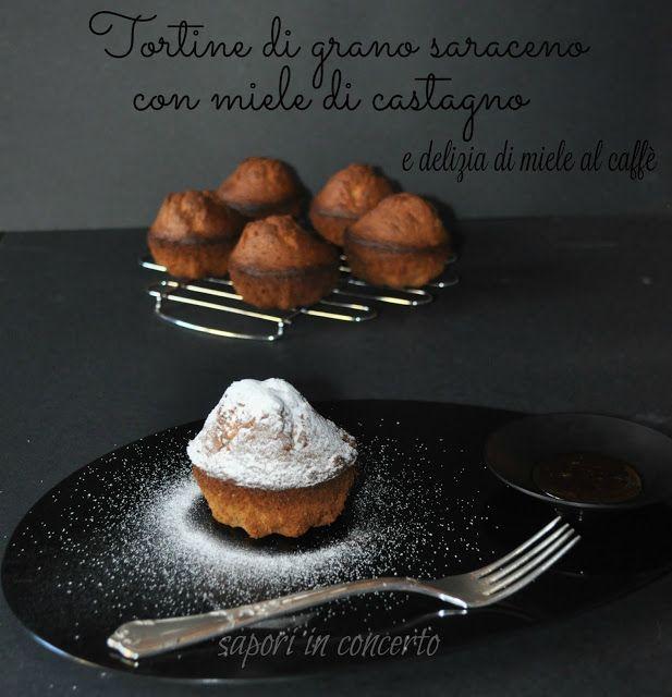 Tortine di grano saraceno con miele di castagno di Antonella