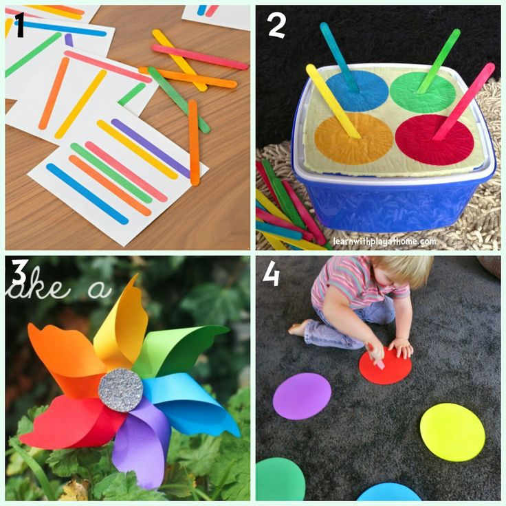 8 colour learning activities for kids
