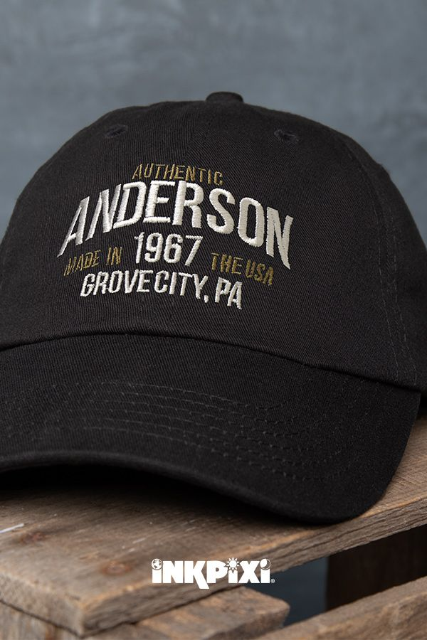357890b4 Throw on our unique Authentic Brand custom hat and be ready to start your  day. A classic design featuring your name, place, and year is a must have.
