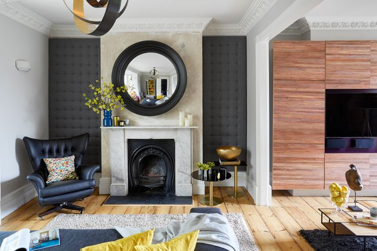 Room designed by London Interior Designer Daniel Hopwood. Photograph by Andrew Beasley