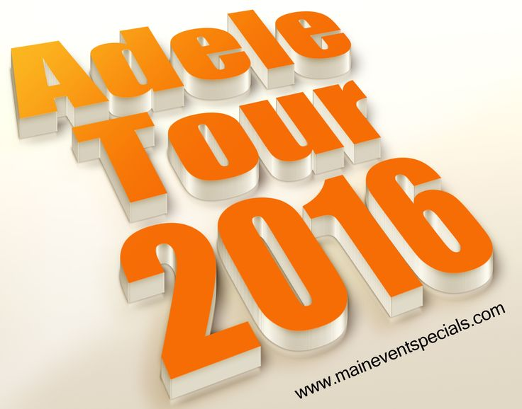 Visit this site http://maineventspecials.com/adele-tour-dates-live-concert-tickets/ for more information on Adele tour 2016.  Adele is a Musical Sensation and watching how she commands her audience, with pure Vocal Range and Strength is something to behold, and the images will stay with you as much as the Music does. Follow us: https://www.tmup.co/f/garthbrookstickets
