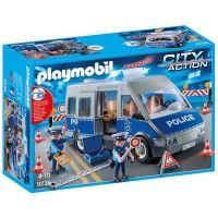 Playmobil - Politi med Politivarebil