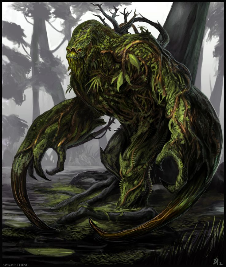 Swamp Creature by Dave Melvin (aka Davesrightmind)
