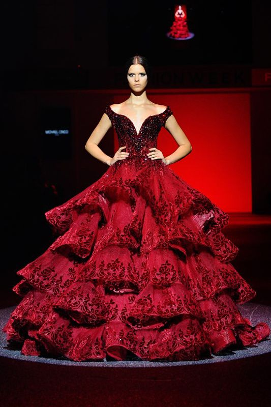 artofashion:  Michael Cinco Haute Couture Fall 2013