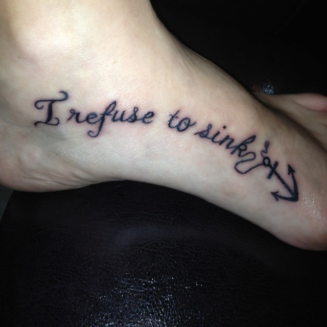 My Recovery Tattoo I Refuse To Sink I Wish To Fly: 145 Best Images About Tattoos! On Pinterest