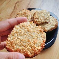 Proste ciasteczka kokosowo-amarantusowe | Dobre Zdrowe Gotowanie