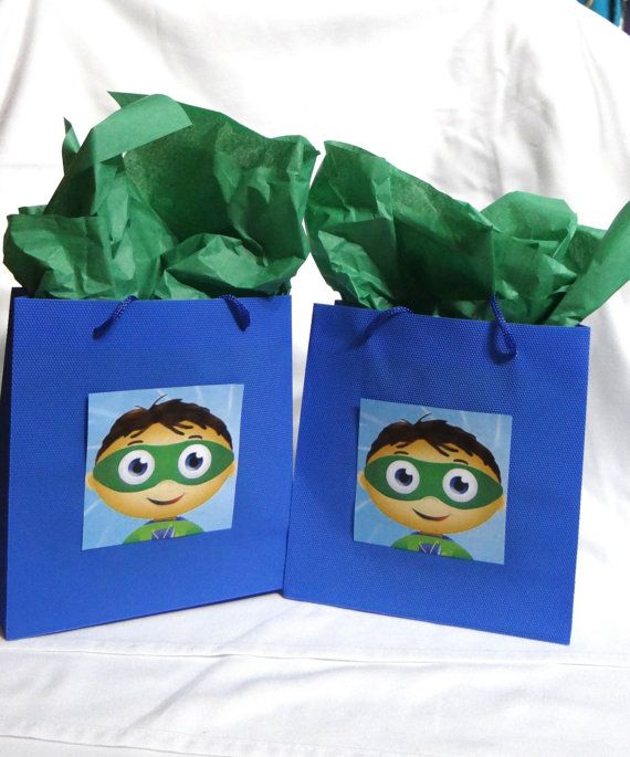 12 Super Why Birthday Party Plastic Favor by FantastikCreations, $20.00