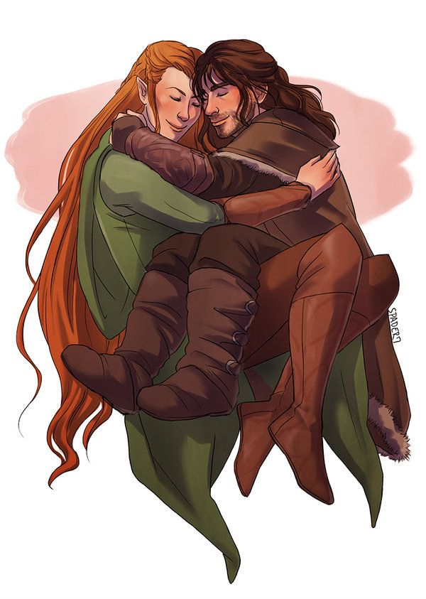 Kiliel by Spader7.deviantart.com on @deviantART  If only in his dreams... // this is so sweet I just CAN'T anymore. *curls into shock blanket*