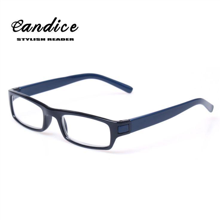 Lesebrille Marke Mode Klare Linse Kunststoff Eyewears Licht Männer Frauen Farbe Brillen Presbyopie Brille Dioptrien 0,5 bis 6,0