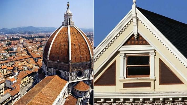 Triangles and Arches in Architecture