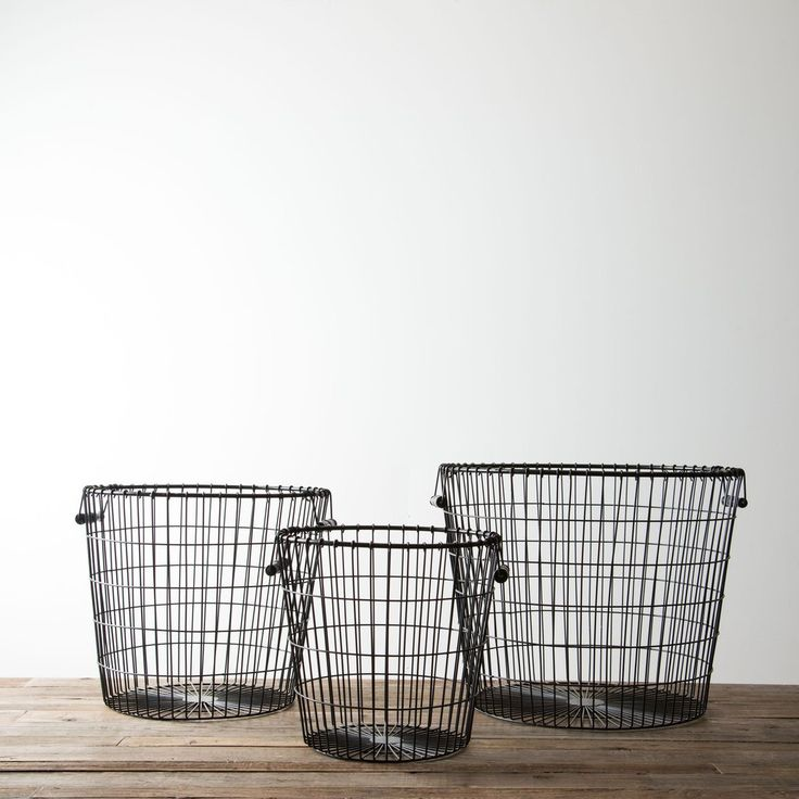 Black Laundry Basket | Chip & Joanna Gaines | Magnolia Market | Back to…