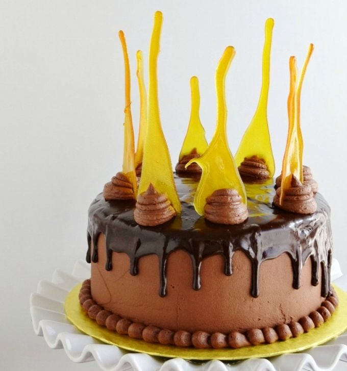 Chocolate Icing Cake Ideas
