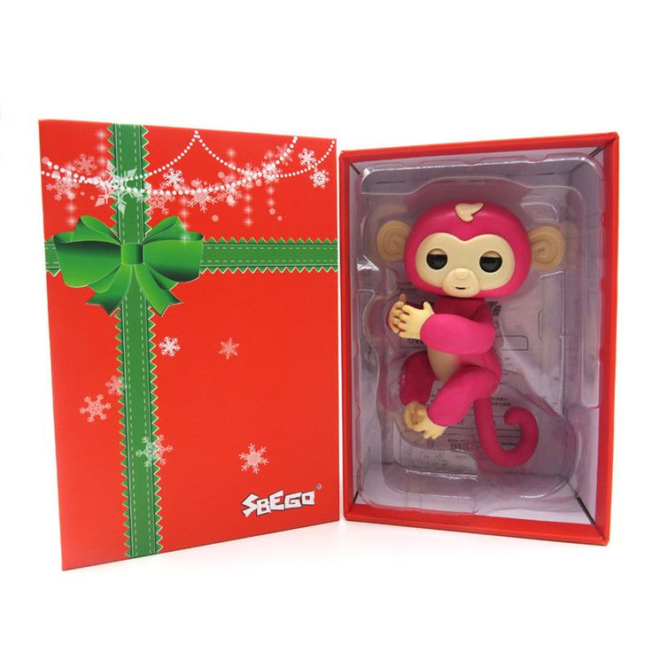 Christmas Finger Baby Interactive Pet Monkey Smart Induction Toys For Kids #Unbranded