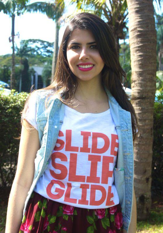 Camiseta | Slide slip glide coral R$35,00 Heti Skating t-shirt