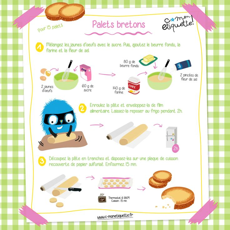 Découvrez notre recette pour réaliser facilement et rapidement les incontournables sablés bretons pour le goûter de vos enfants !