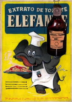 Extrato de tomate Elefante muito usado antes da chegada dos molhos prontos ! tem gosto de infancia