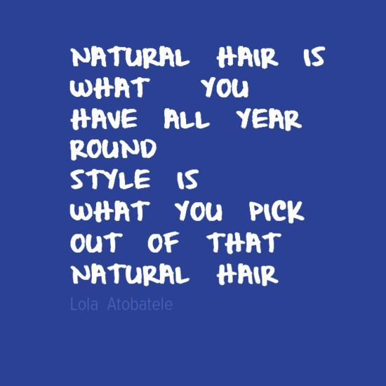 quotes about natural hair - photo #40