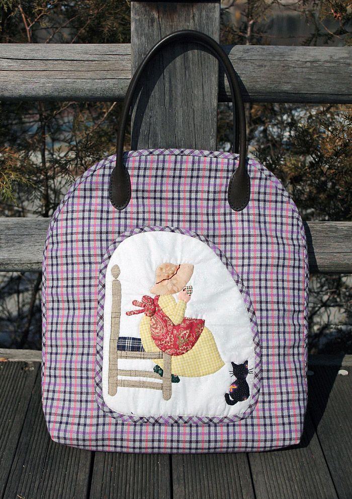 Japanese Patchwork Bag. DIY Japanese patchwork tutorial quilted appliqué handbag / handmade sewing bag. Сумка в стиле японский пэчворк. http://www.handmadiya.com/2015/08/japanese-patchwork-bag.html