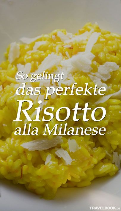 """In unserer Rubrik """"Weltspeisen"""" berichten wir regelmäßig über Streetfood-Märkte und Restaurants, die derzeit angesagt sind, und stellen Gerichte aus aller Welt vor. Dieses Mal verrät uns der Schweizer Foodblogger Alexandre Bidault sein Rezept für leckeres Risotto alla Milanese."""