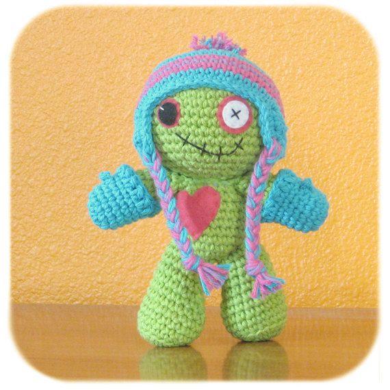 Crochet Zombie : ... Zombies Plush, Crochet Winter Hats, Costumes Crochet, Crochet Zombies