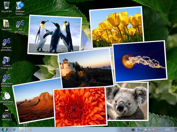 Automatic desktop wallpaper changer - Wallpaper Slideshow Pro