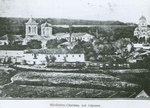 BU-F-01073-1-09760 Mănăstirea Căpriana, judeţul Lăpuşna, Basarabia, -1930 (niv.Document)