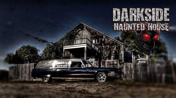 If you're not afraid of a little rain come out to Darkside Haunted House tonight! This horrifying haunt is open rain or shine tonight from 7 p.m. to 11 p.m. Come out tonight to avoid the long lines that tend to form over the weekend! The maniacs and monsters who reside here sure aren't afraid of a little rain...