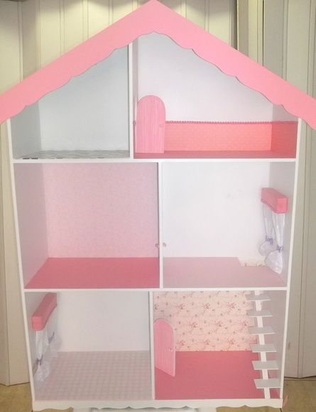 CASA PARA BARBIE DECORADA