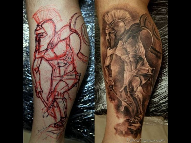 13725 spartan tattoo warrior best tattoos ever by tattoo for Italian warrior tattoos
