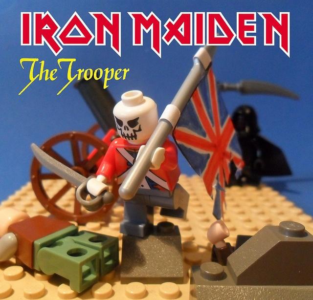 Iron Maiden - The Trooper by -lokosuperfluoLEGOman-, via Flickr