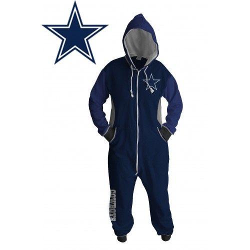 Dallas Cowboys Footie Pajamas Adults  63304ae03