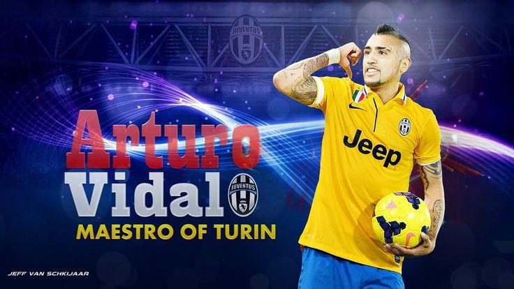 Arturo Vidal Juventus 2014 Wallpaper by jeffery10