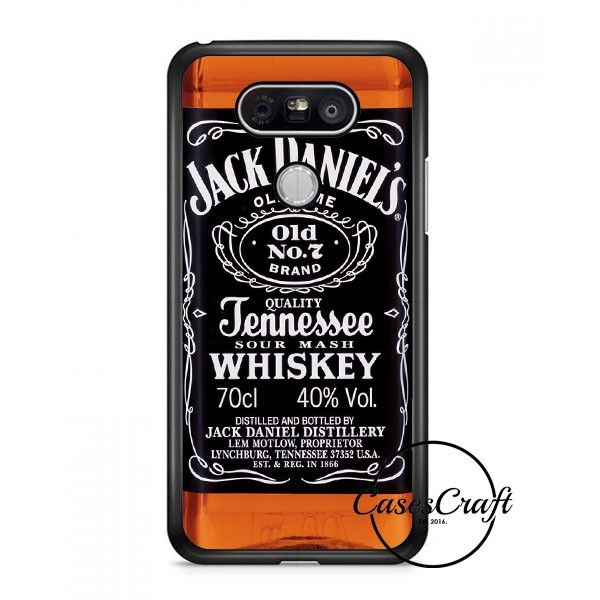 Jack Daniels Black Label Lg G6 Case | casescraft
