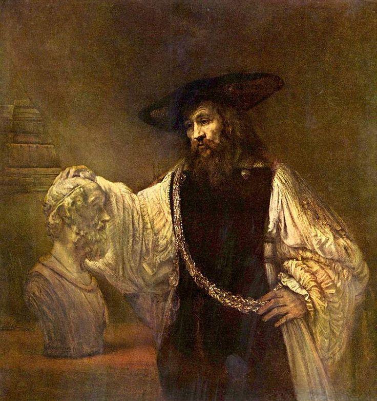 https://img-fotki.yandex.ru/get/68668/233460605.ba/0_1095f1_af5a2b94_XXL.jpg Рембрант ван Рейн. Аристотель с бюстом Гомера, 1653 г.
