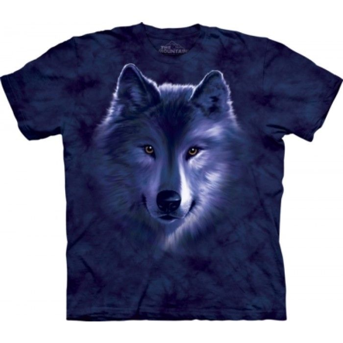 Tricouri The Mountain – Tricou Wolf Fade